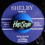 "7"" ✦ THE TENNESSEE RHYTHM RIDERS✦ ""Traffic Cop Blues"" Superb Hillbilly Style ♫"